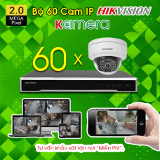 TRỌN BỘ 60 CAMERA IP HIKVISION 2.0MP